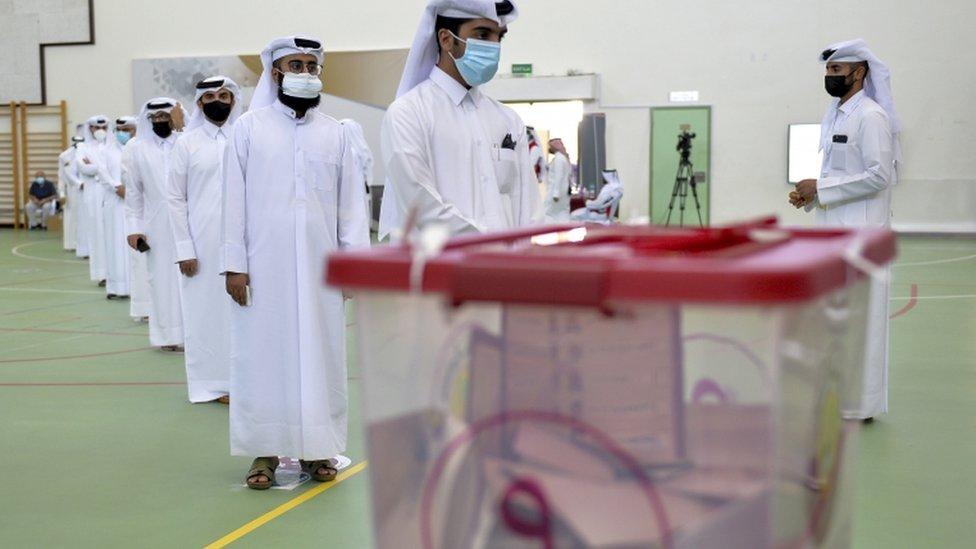 انتخابات قطر