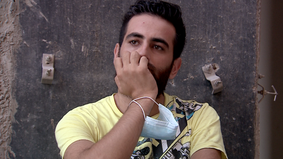 Mahmud Kenno, whose family were caught up in the Beirut explosion