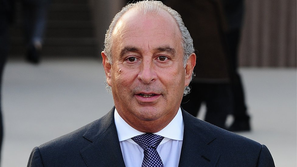 Sir Philip Green drops 'gagging' legal action