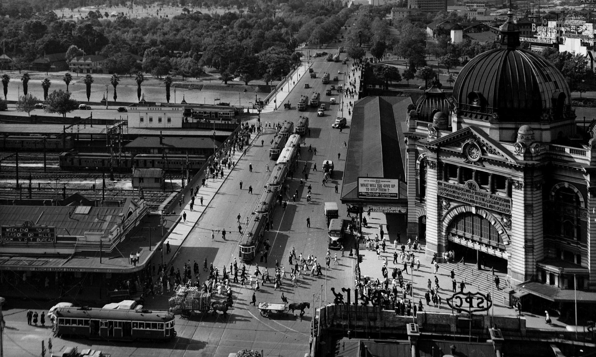 Melburn 1955.