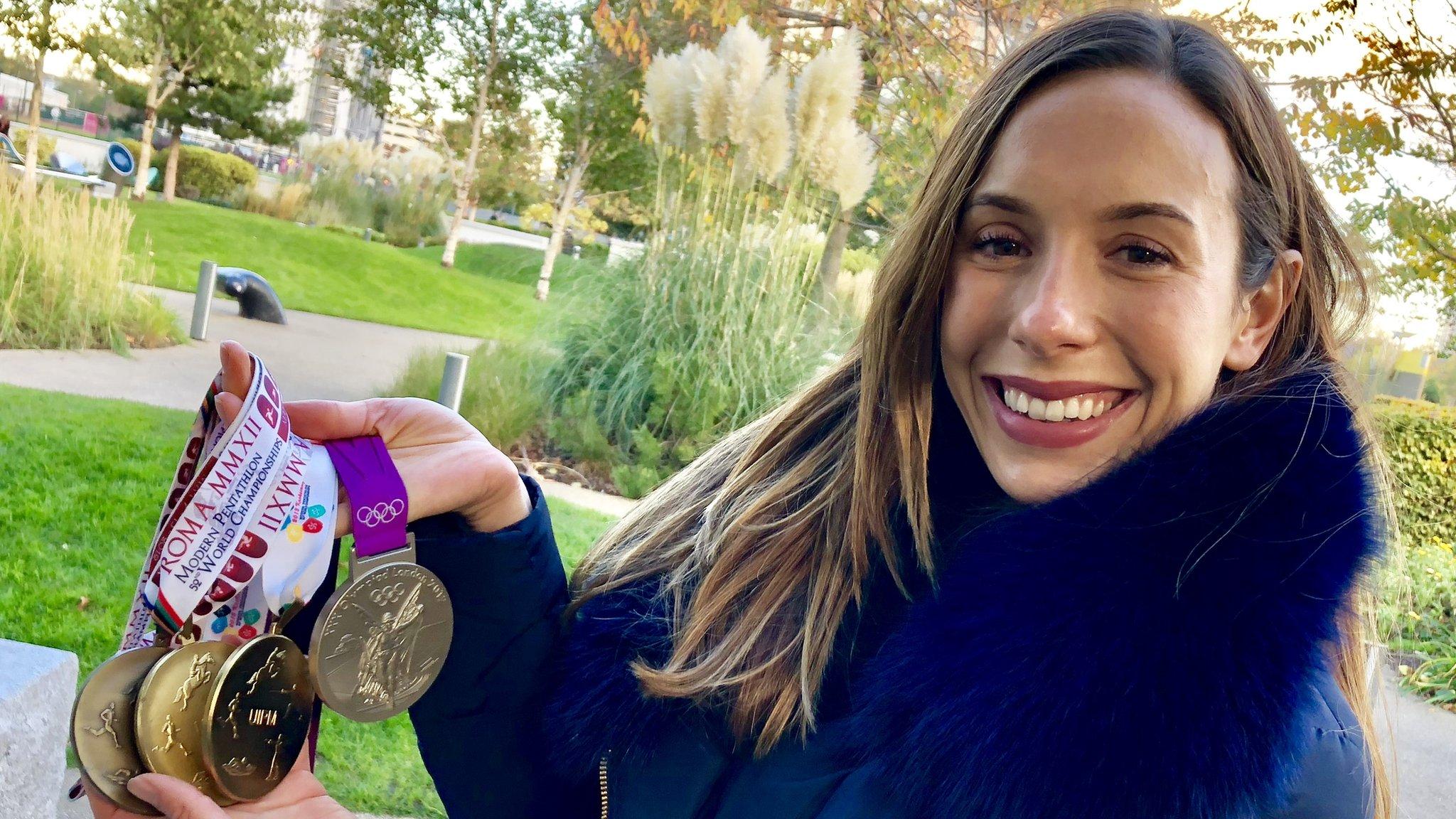 Samantha Murray: London 2012 silver medallist retires from modern pentathlon