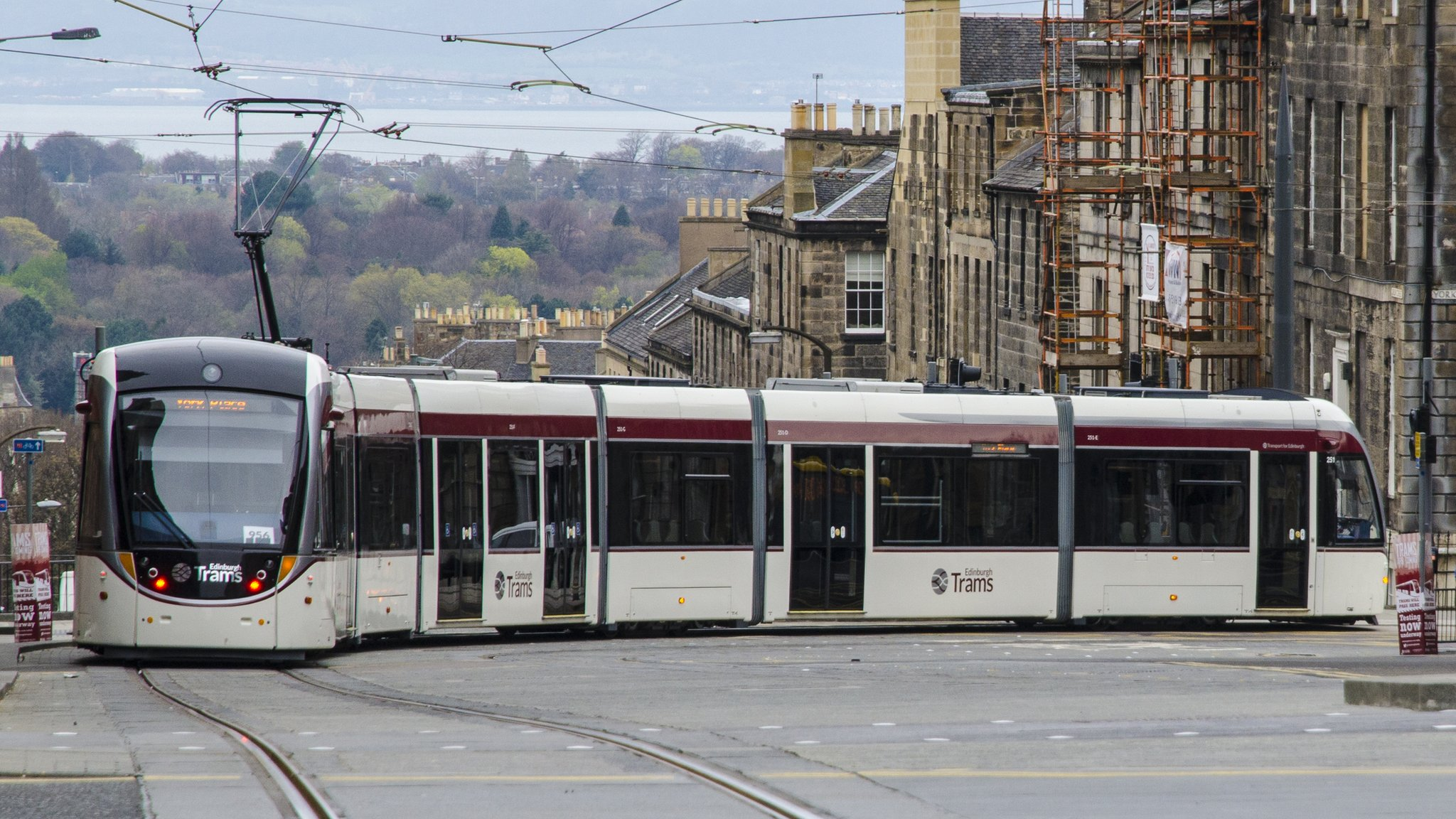 New designs for part of Edinburgh tram extension