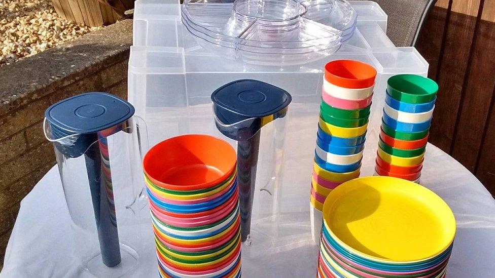 Single-use plastic: Eco party packs help cut plastic waste