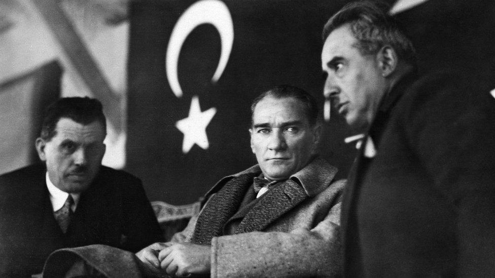توجهت تركيا نحو الغرب مع أتاتورك