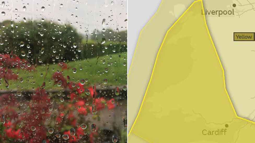 Met Office issue heavy rain and flood warning for Wales