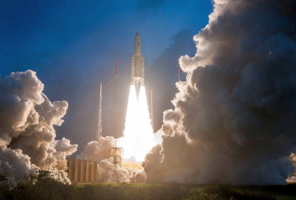 The heaviest, largest and most-advanced high throughput communication satellite of India, GSAT-11 was launched successfully from Kourou Launch Zone today onboard Ariane 5 VA246 launch vehicle.