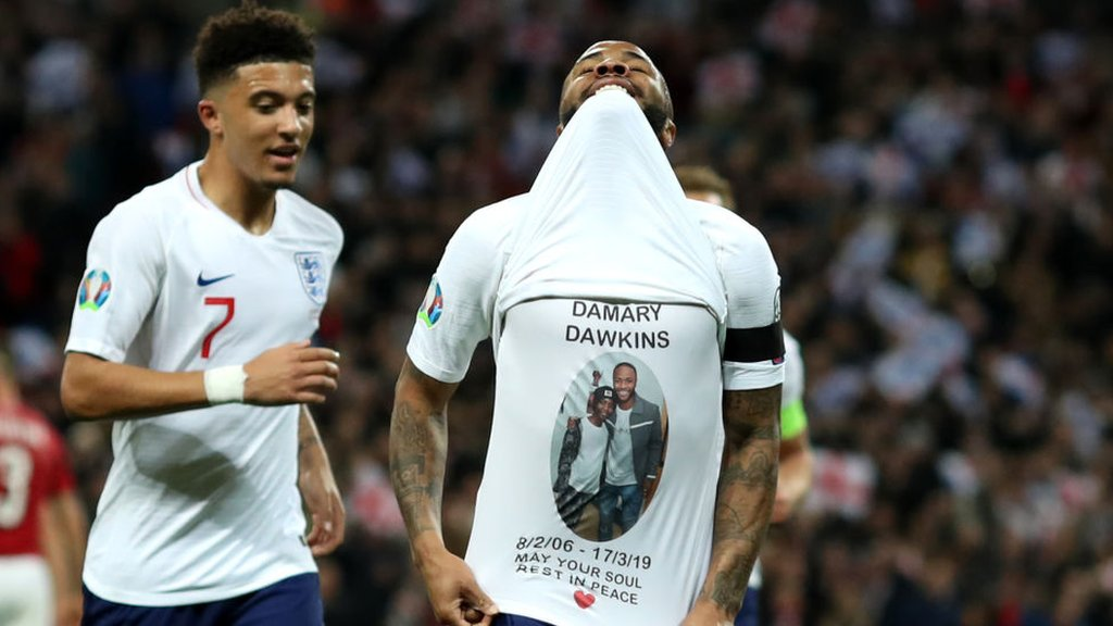 Raheem Sterling to pay for Damary Dawkins' funeral
