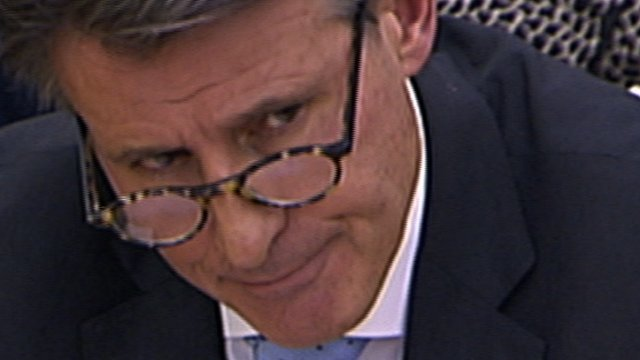 IAAF President Lord Coe quizzed over his record