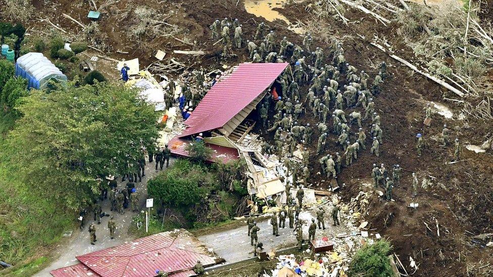 Spasioci u selu Atsuma