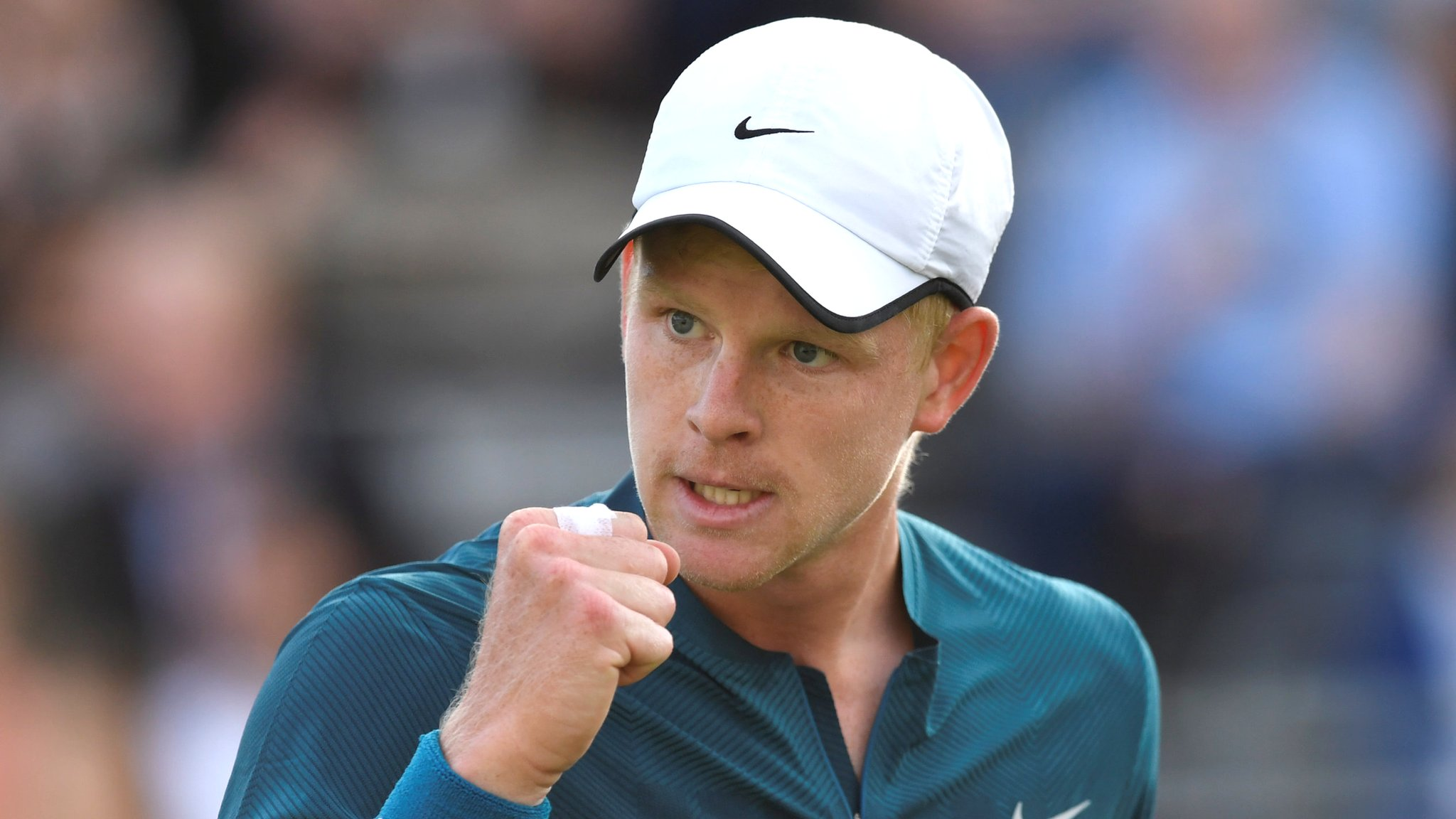 Queen's Club 2018: Kyle Edmund beats Ryan Harrison at Queen's