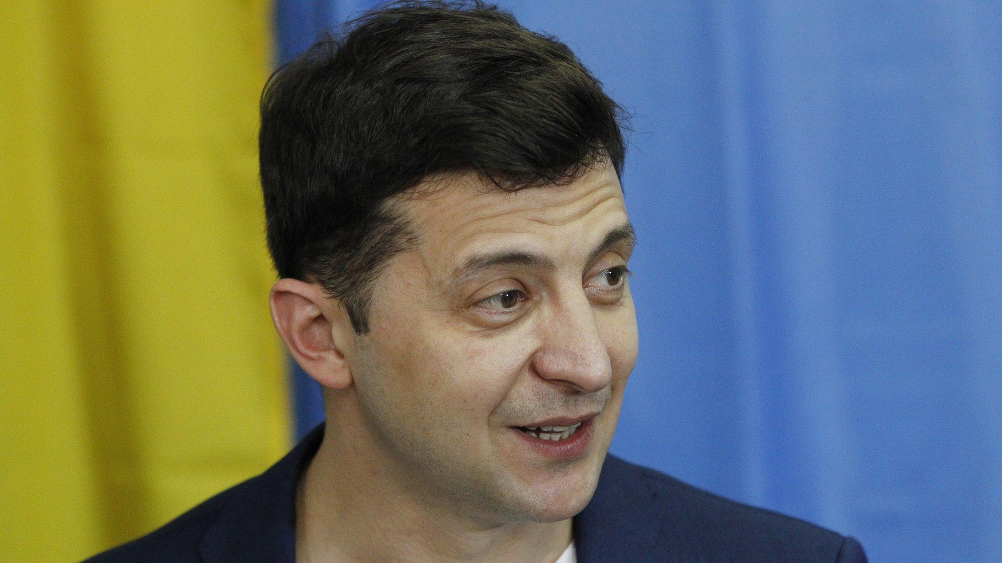 Ukraine election: Comedian Zelensky 'wins presidency by landslide'