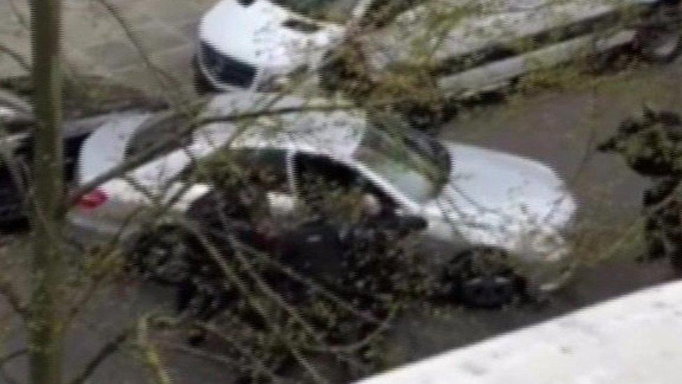 Police fire during Ukrainian embassy 'car ramming'