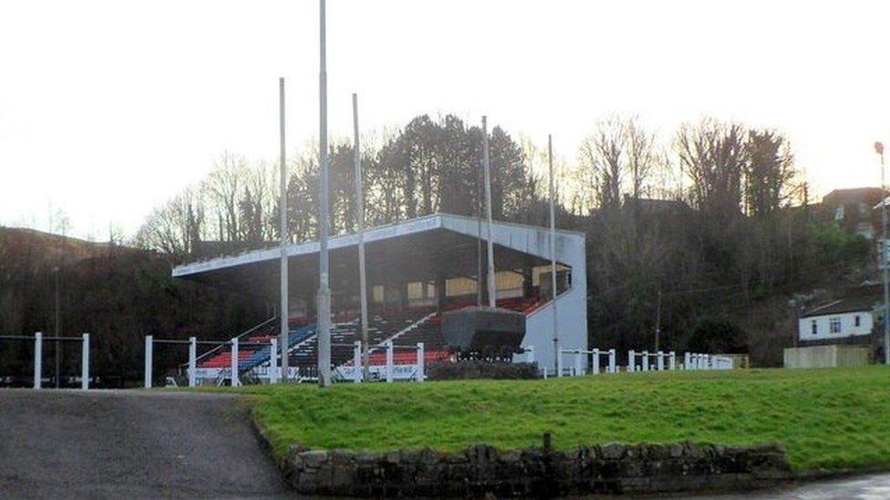 Sardis Road rugby ground