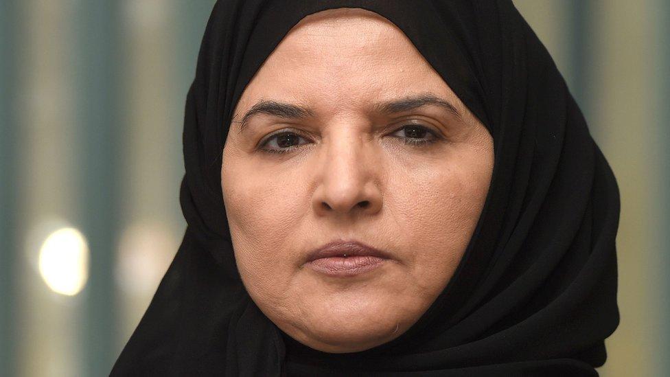 File photo showing Saudi women's rights activist Aziza al-Yousef (27 September 2016)