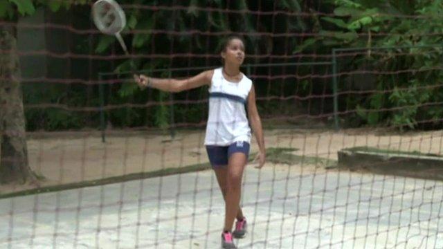Student in Rio