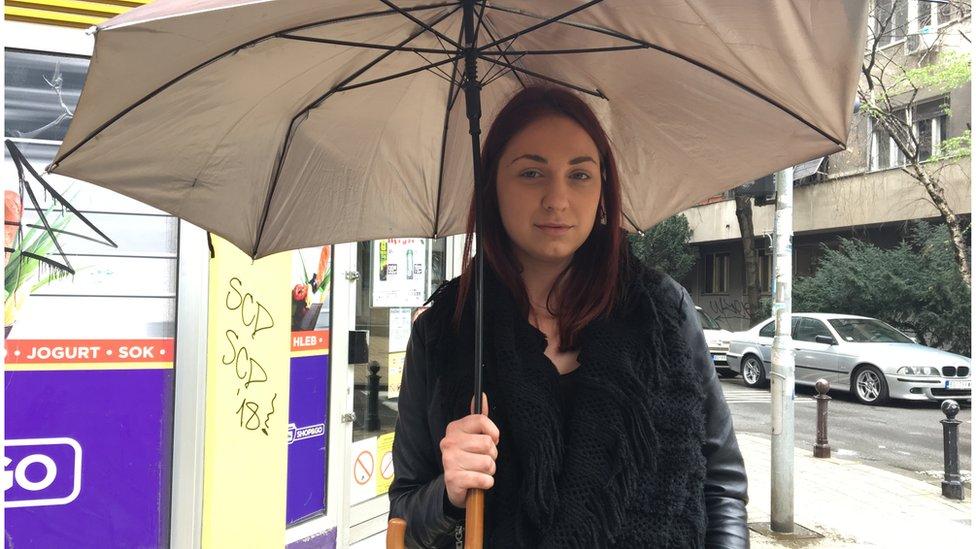Aleksandra Delić, Beograd, april 2018.