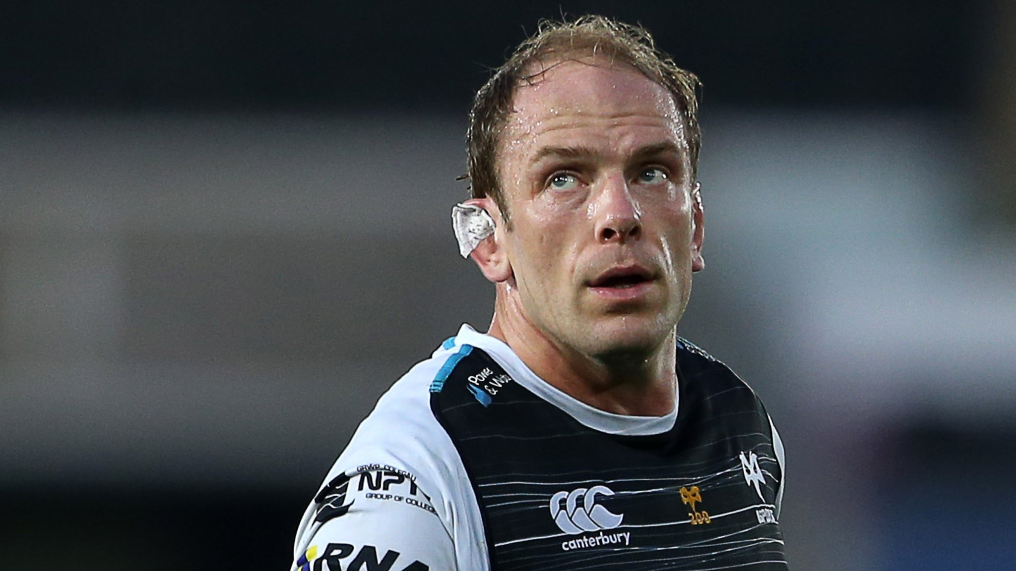 Alun Wyn Jones' Ospreys departure speculation, says coach Allen Clarke