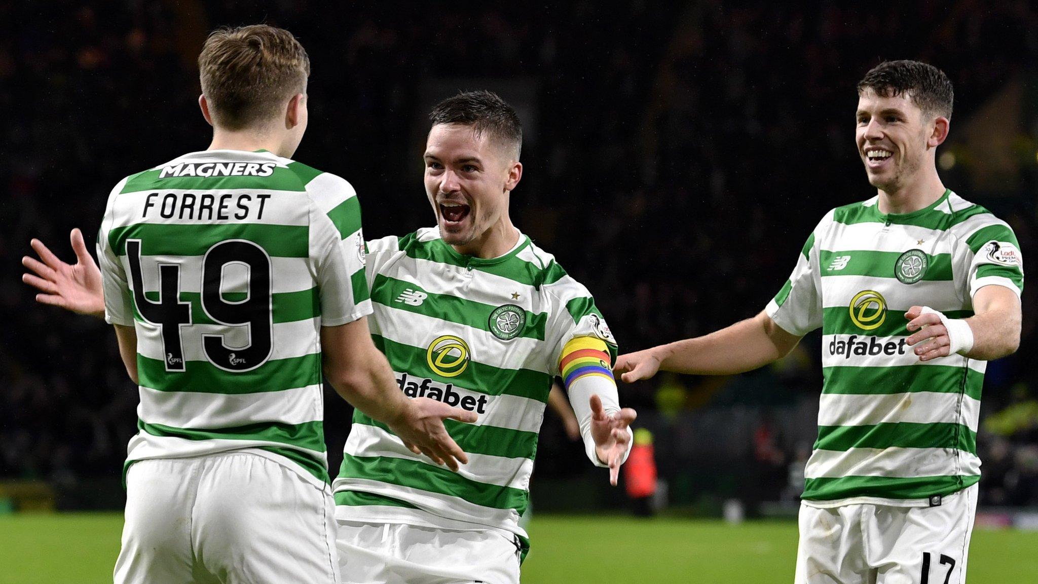 Celtic 5-1 Kilmarnock: Brendan Rodgers' side depose visitors from summit