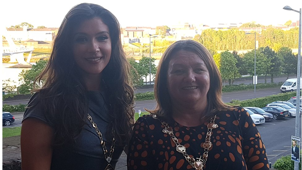 Women elected as Derry and Strabane mayor and deputy for first time