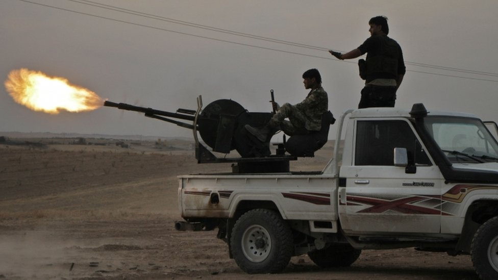 ميليشيات مدعومة من تركيا شمال شرق سوريا