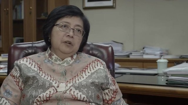 Siti Nurbaya, Indonesia environment minister