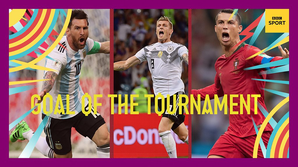 World Cup 2018: Goal of the tournament pick your favourite from BBC Sport's top 10