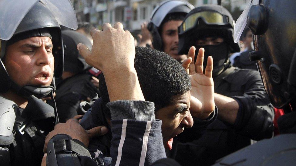قوات الأمن المصرية في مرمى اتهامات هيومن رايتس ووتش