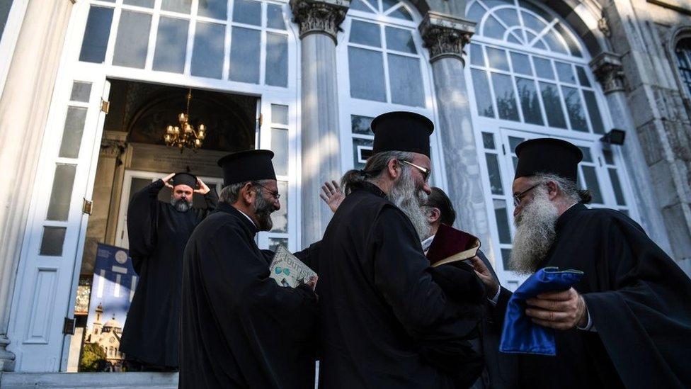 Екзарх Даниїл про українське питання на Синоді: