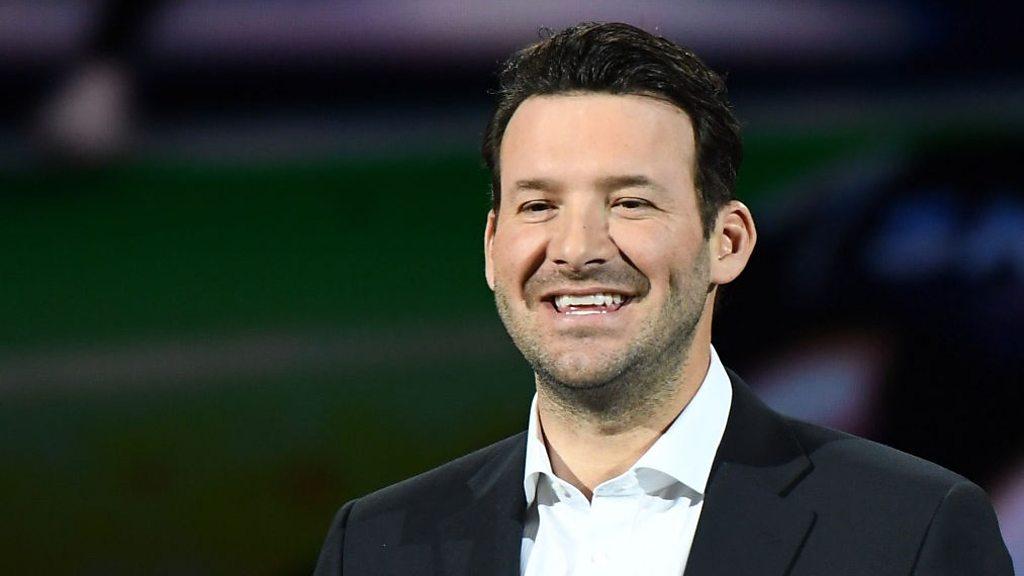 Listen as NFL commentator Romo predicts the future