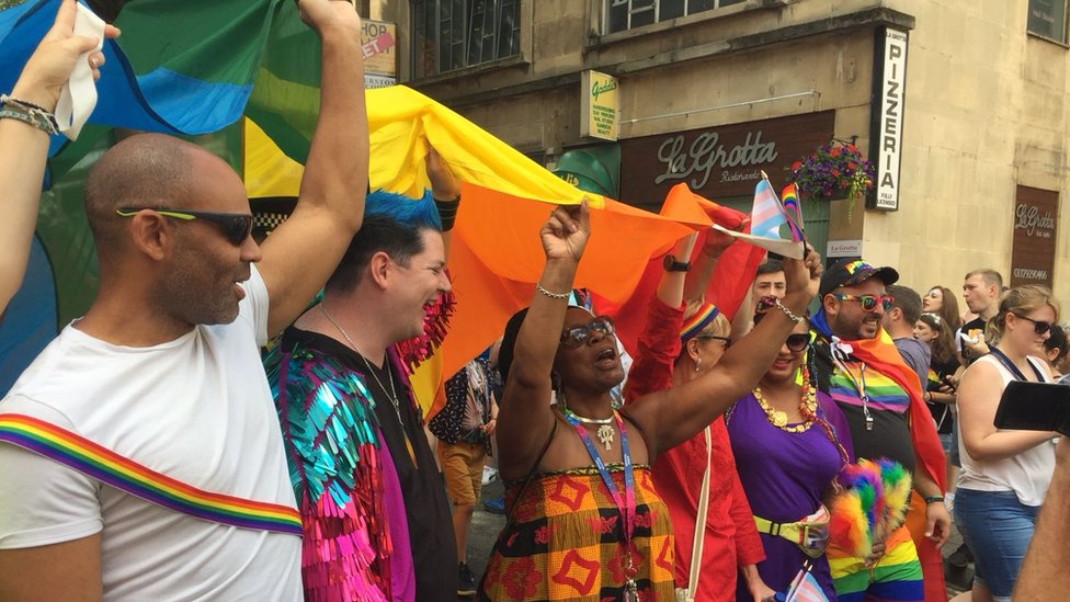 Bristol Pride Day marked with parade and music festival
