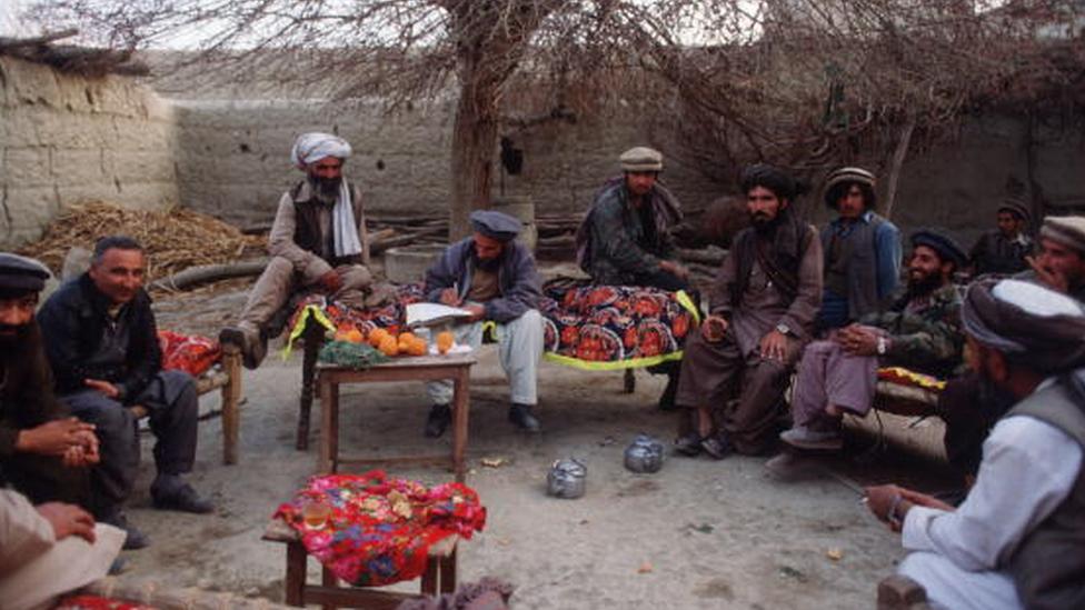 Eğitim kampında mücahitler
