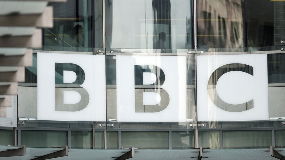 BBC sign at Broadcasting House