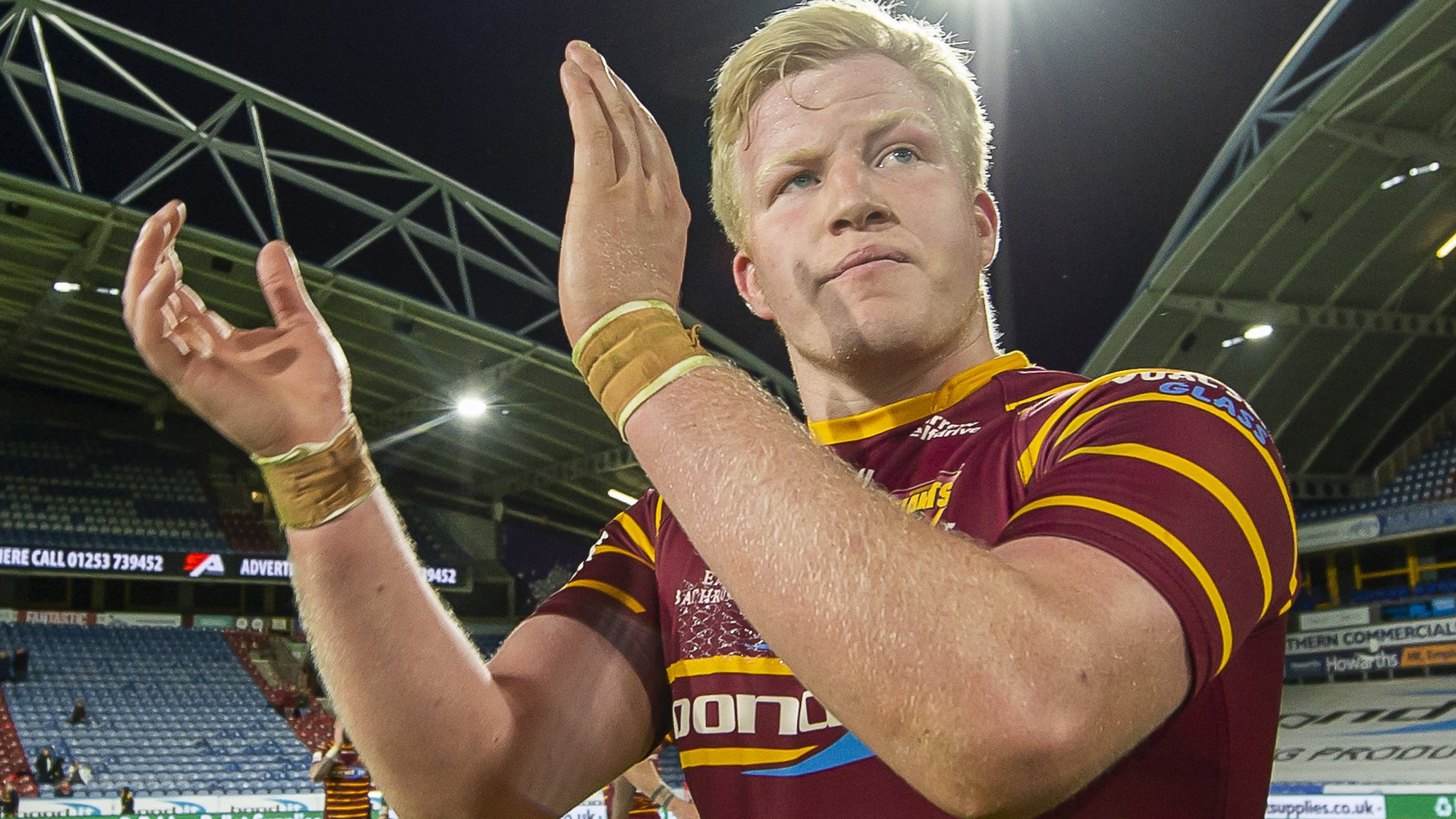 Matty English: Huddersfield Giants prop extends contract until 2022