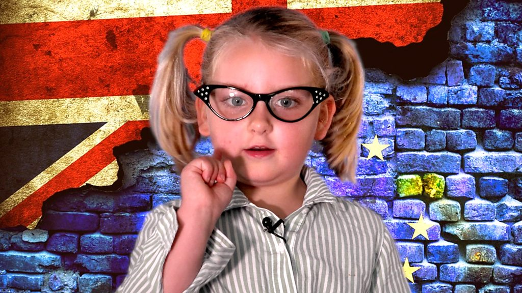 Brexit explained by a three-year-old
