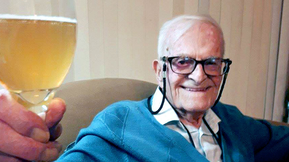 Harry Leslie Smith: The 'world's oldest rebel'