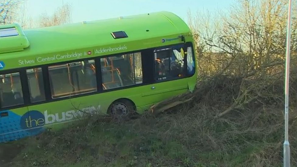 Speeding Cambridgeshire guided busway driver gets suspended sentence