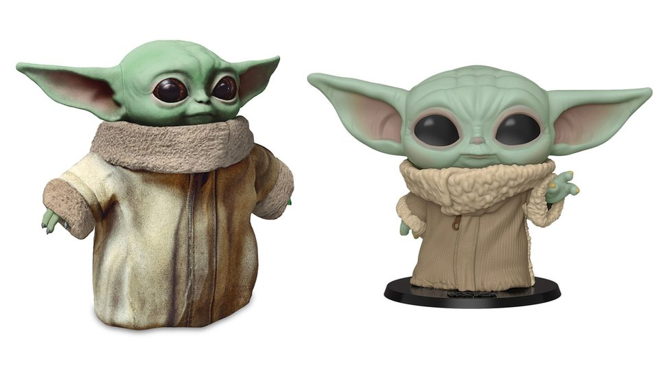 The Baby Yoda toys that have been announced this week