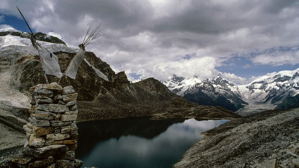 Montañas de Bután