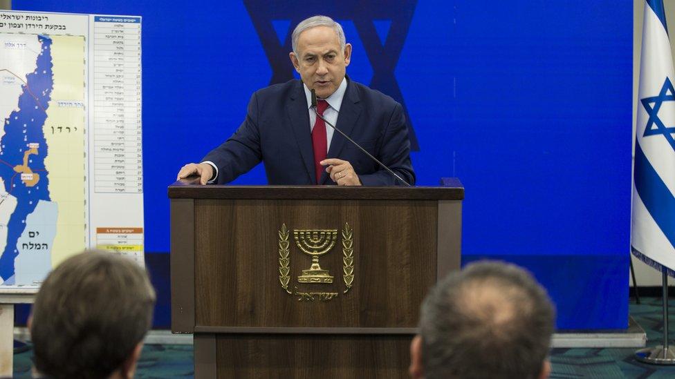 نتنياهو يعلن عزمه ضم غور الأردن