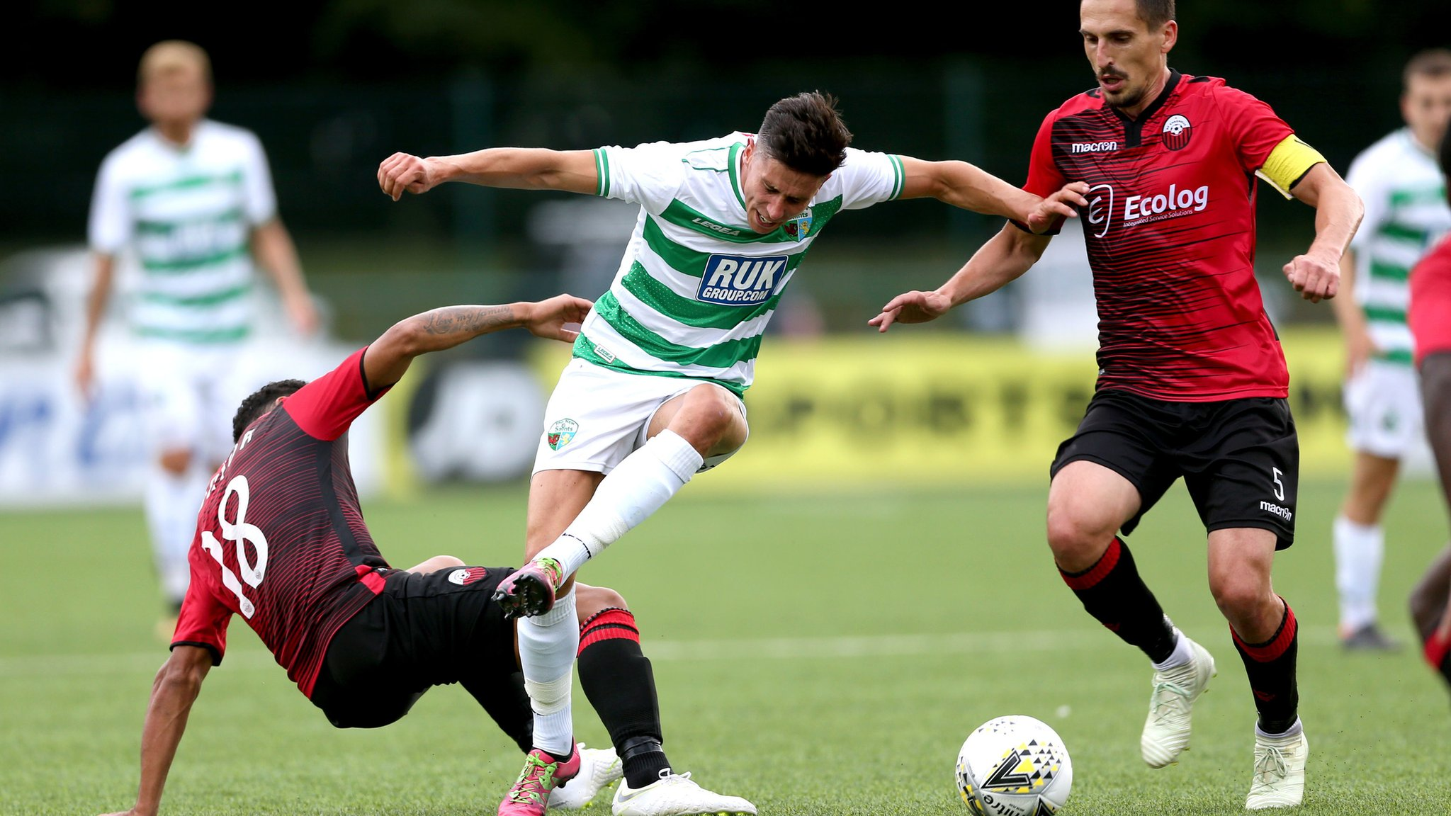 TNS fall just short of extraordinary Champions League comeback