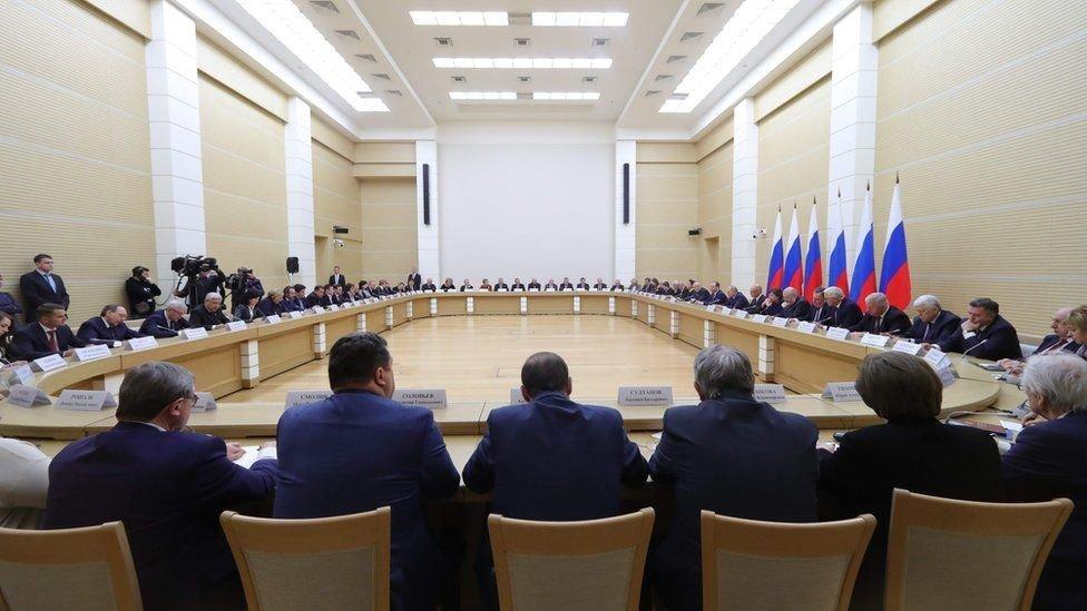 En enero Putin propuso realizar una votación popular para enmendar la constitución.