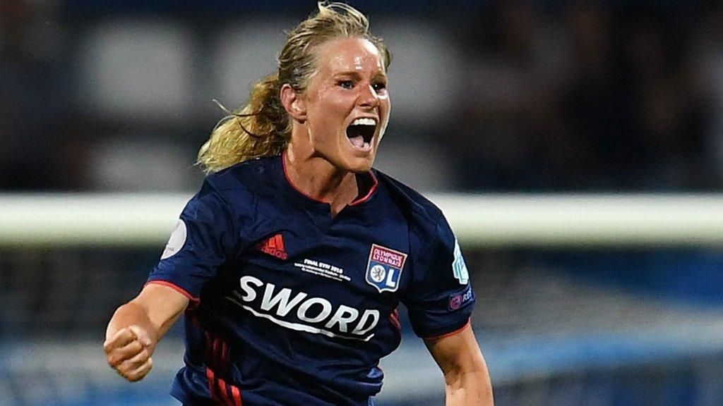 Highlights: Wolfsburg Ladies 1-4 Lyon Feminines (aet)