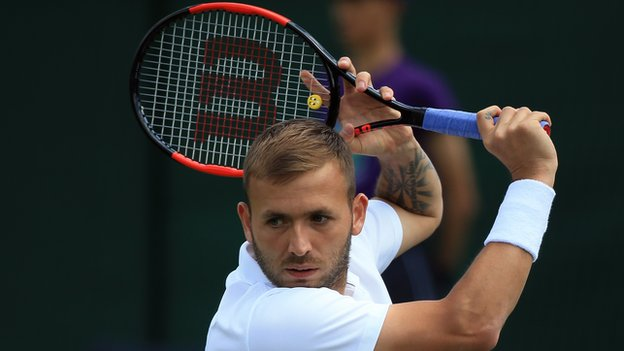 Wimbledon 2018 qualifying: Dan Evans beats Ilya Ivashka in straight sets