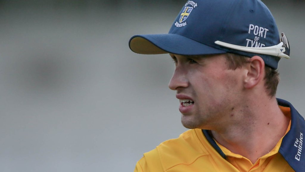 Cameron Steel: Durham batsman signs contract extension until 2021
