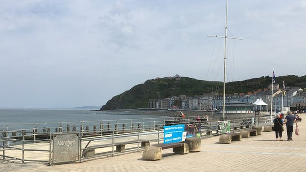 Safety concerns over 'eroded' Aberystwyth paddling pool