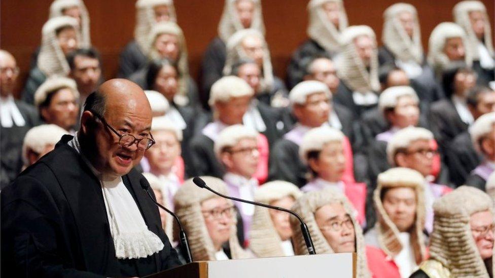 香港法律界擔心司法獨立受損。