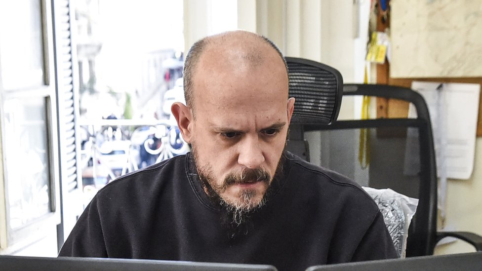 مدير مكتب وكالة فرانس برس في الجزائر، إيمريك فنسنو