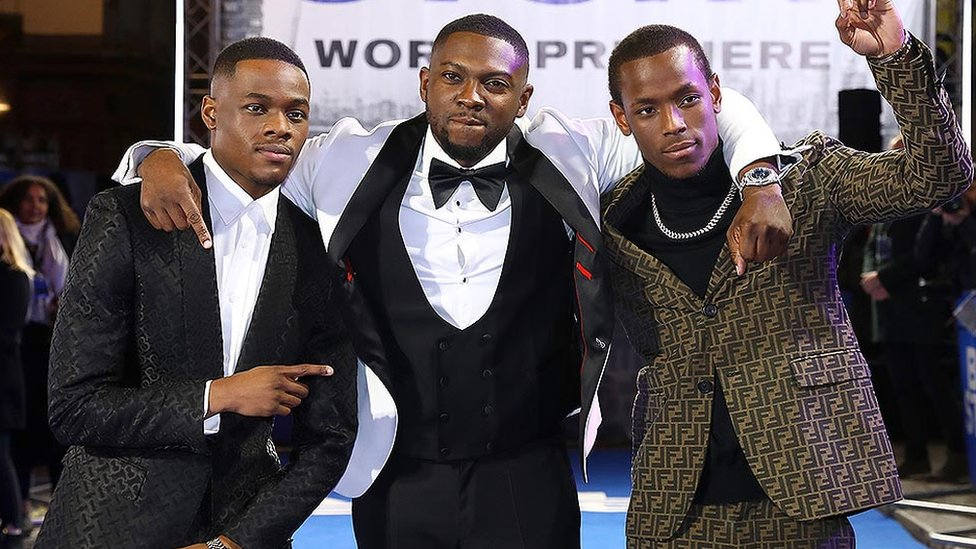 Stephen Odubola, Rapman and Micheal Ward