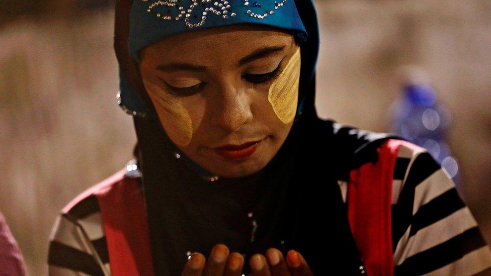 Warga Muslim di Myanmar