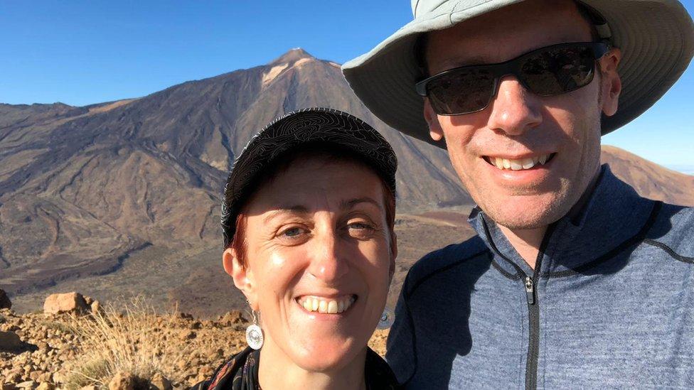 Annette Shelford with her partner